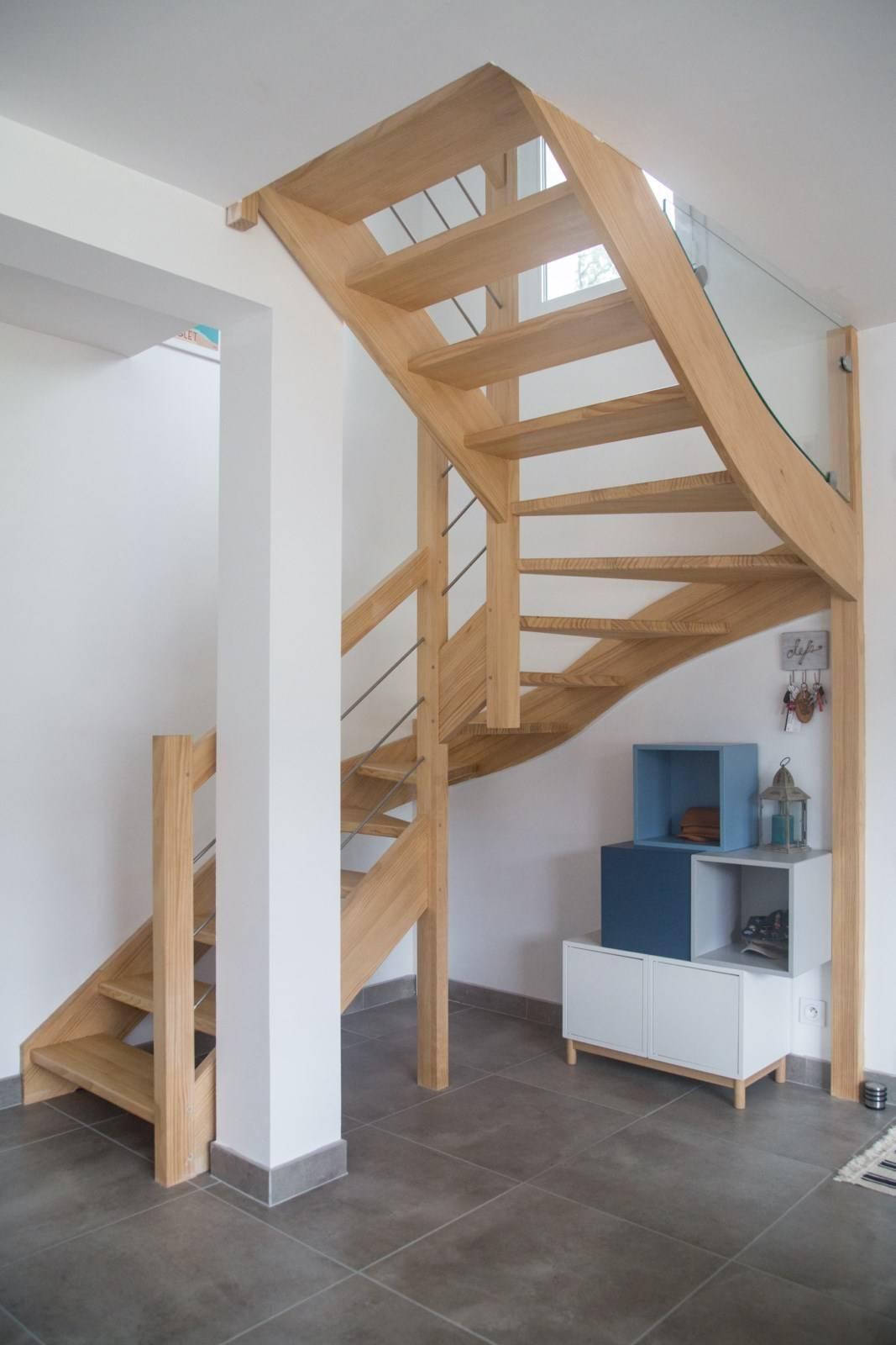combien co u00fbte un escalier bois sur mesure en  u00eele de france